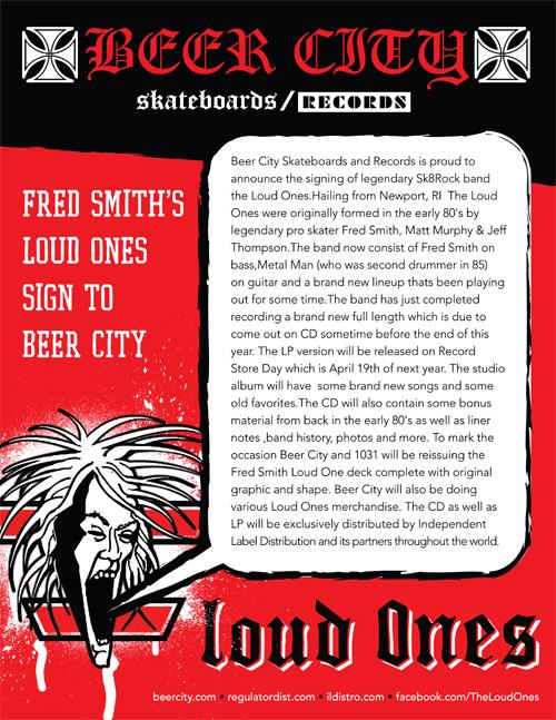 Beer City signs The Loud Ones!
